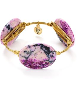 Purple Jasper Bangle