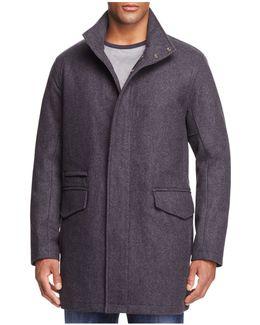 Stanford Wool Blend Puffer Coat