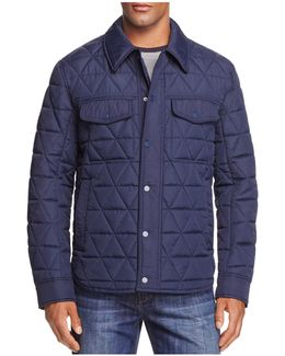 Medford Quilted Shirt Jacket