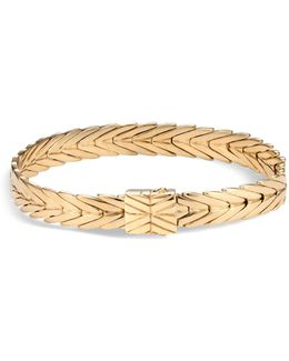 18k Yellow Gold Modern Chain Bracelet