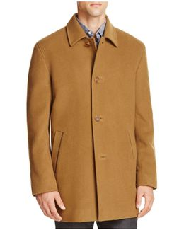Wool Cashmere Topper Coat