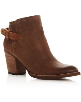 Joplin Block Heel Booties