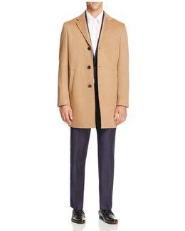 Plain Slim Fit Topcoat - 100% Bloomingdale's Exclusive