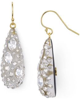 Shimmer Dust Dewdrop Earrings