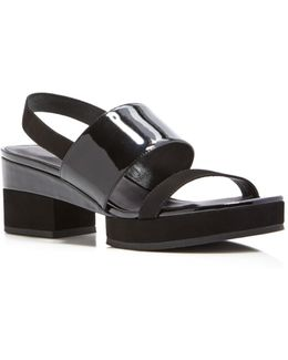 Malia Platform Slingback Sandals