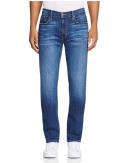 Brixton Straight Fit Jeans In Bradlee