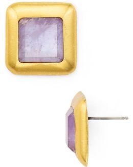 Crush Square Stud Earrings