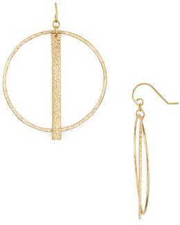 Column Hoop Earrings