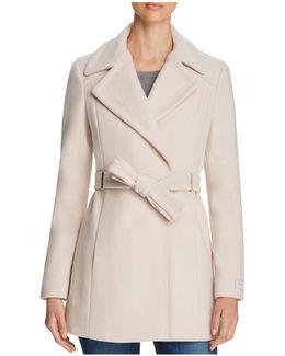 Tie-waist Coat