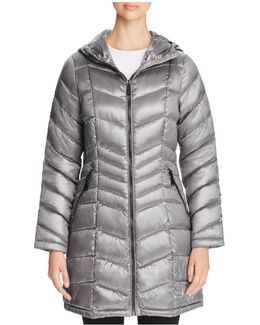 Pebble Long Down Coat