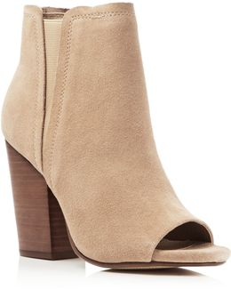 Kendyll Open Toe High Heel Booties