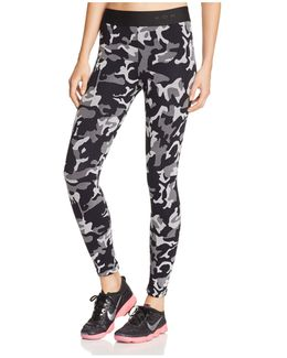 Knockout Cropped Leggings
