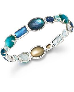 Sterling Silver Rock Candy® Wonderland All Stone Bangle In Merino
