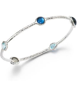 Sterling Silver Rock Candy® Wonderland Bangle In Merino