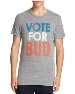 Vote For Bud Graphic Tee
