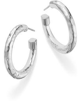 Sterling Silver Glamazon® Hoop Earrings