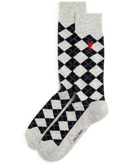 Pinch Argyle Socks
