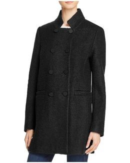 Harper Double-breasted Front Coat