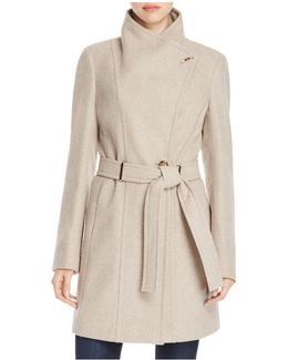 Toggle Wrap Coat