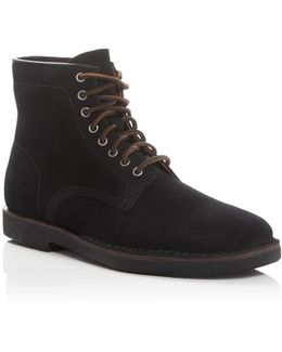 Arden Suede Lace Up Boots