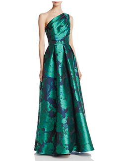 Infusion One Shoulder Gown