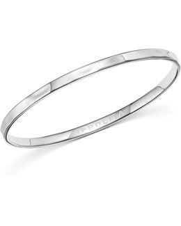 Sterling Silver Sensotm Oval Bangle Bracelet