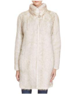Knit Mink Fur Coat