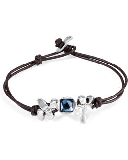 Leather Thingy Bracelet