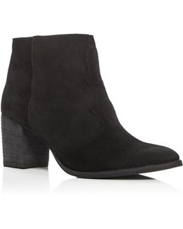Lennon Western Pointed Toe Booties