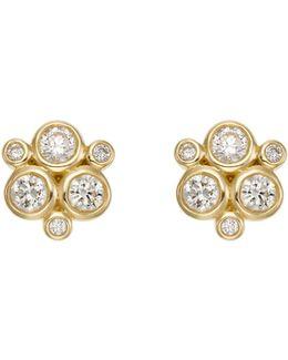 Temple St. Clair Diamond Stud Earrings