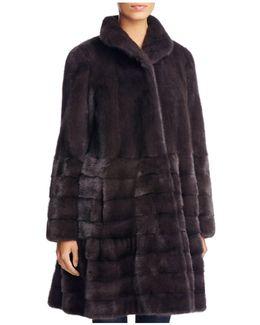Saga Mink Fur Coat