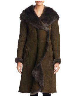 Lamb Fur Shearling Coat