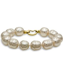 Simulated Baroque Pearl Bracelet