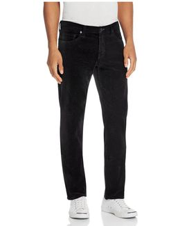 Tyler Slim Fit Velvet Pants