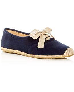 Eve Lace Up Espadrille Flats