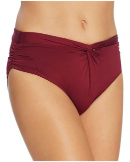Weave Halter Bikini Top