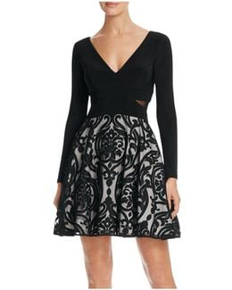 Mixed Media Dress