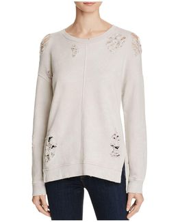 Bibiana Distressed Sweatshirt
