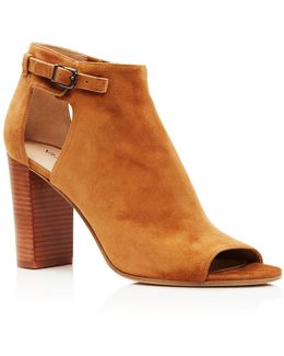 Giuliana High Heel Peep Toe Booties