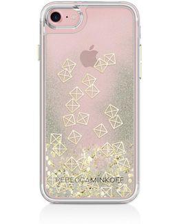 Liquid Glitter Emoji Iphone 7 Case