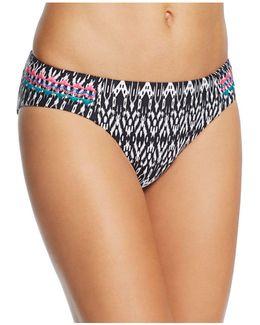 Dream Printed Triangle Bikini Top