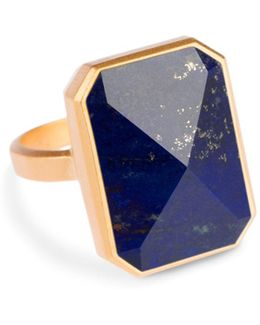 Aries Activity Tracker Smart Ring In Lapis