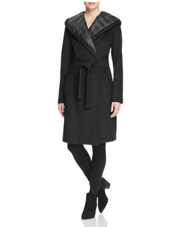 Paige Down-lined Wrap Coat