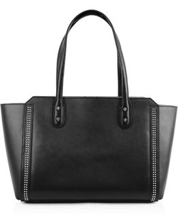 Soho Solutions Leather Tote