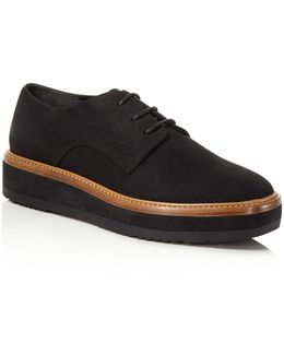 Tanner Platform Lace Up Oxfords