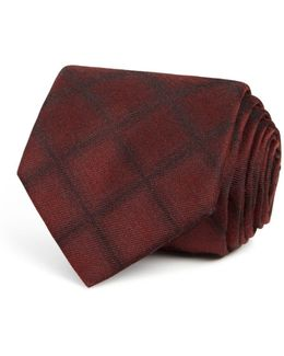 Shadow Check Classic Tie
