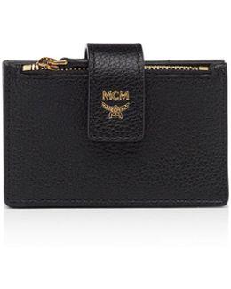 Milla Accordion Leather Card Case