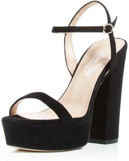 Retro Platform High Heel Sandals
