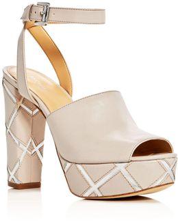 Trina Ankle Strap Platform Sandals