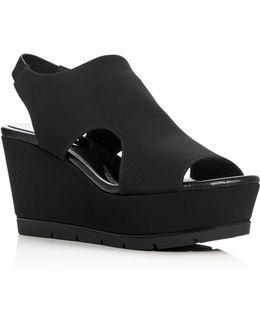 Fonda Platform Wedge Sandals